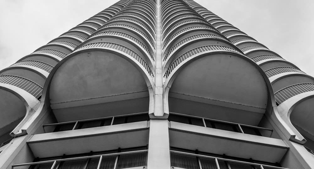 Hotelturm Augsburg - Detail
