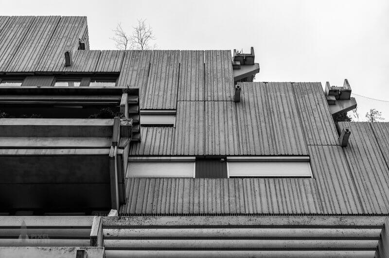 Der fuchsbau brutalistische architektur in m nchen for Architektur brutalismus